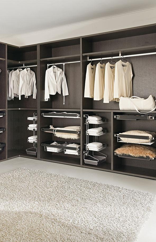 offene schrankl sungen bersichtlich und platzsparend. Black Bedroom Furniture Sets. Home Design Ideas