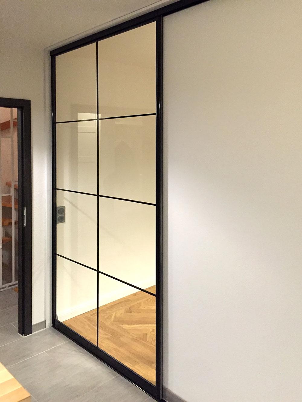 referenzen raumteiler schiebet ren als raumteiler. Black Bedroom Furniture Sets. Home Design Ideas